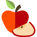diet, vegetarian, vegan, Healthy Food, Food And Restaurant, Apple, food, Fruit, organic Icon