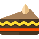 Piece Of Cake, Food And Restaurant, food, Dessert, sweet, Bakery Black icon