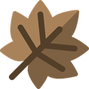 plant, Leaf, nature, halloween, garden, maple leaf, Botanical Sienna icon