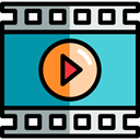 movie, Multimedia, Arrows, interface, music player, Play button, video player, Multimedia Option, Music And Multimedia MediumTurquoise icon