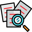 interface, Edit Tools, document, File, Archive, search Black icon