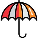 support, Umbrella, Protection, Rain, Seo And Web Black icon