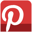 media, sl, Social, pinterest, icons Crimson icon