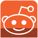 media, sl, Reddit, Social, icons Tomato icon