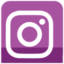 media, sl, Social, Instagram, icons MediumOrchid icon