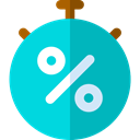 time, stopwatch, timer, interface, Chronometer, Wait, Tools And Utensils, Time And Date DarkTurquoise icon