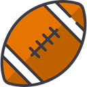 Team Sport, Sports And Competition, team, equipment, sports, American football Chocolate icon