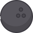 Game, sports, Bowling, Fun, leisure, Sports And Competition DimGray icon