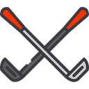 Golf Equipment, Golf Club, Sportive, Sports And Competition, Golf, sport, sports, Golfing Black icon