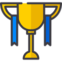 cup, award, trophy, winner, Champion, Sports And Competition DarkSlateGray icon