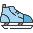 sports, leisure, Winter Sports, Ice Skating, Ice Skate, Sports And Competition Icon