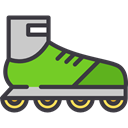 sports, skate, Skating, skater, leisure, roller skate, Sports And Competition DarkSlateGray icon