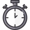 time, stopwatch, timer, interface, Chronometer, Wait, Tools And Utensils, Time And Date DarkSlateGray icon