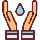 weather, Rain, drop, water, nature, Teardrop, raindrop, drops, Ecology And Environment SaddleBrown icon