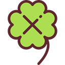 plant, Leaf, nature, Ireland, garden, Clover, shamrock, irish, Botanical, Good Luck YellowGreen icon