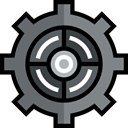 Gear, settings, industry, configuration, cogwheel, Tools And Utensils Black icon