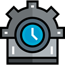 settings, industry, Process, ui, cogwheel DimGray icon