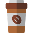 Take Away, Paper Cup, Food And Restaurant, food, coffee cup, hot drink, Coffee Shop, Coffee Sienna icon