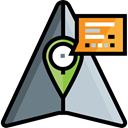 Map Point, placeholder, stick man, map pointer, Map Location, Gps, pin, position Black icon