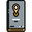 Book, Map, education, Gps, pin, position, placeholder LightSlateGray icon