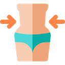 medical, reduction, Surgery, Healthcare And Medical, Liposuction Black icon