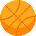 Sport Team, Sports And Competition, Basketball, team, equipment, sports Orange icon
