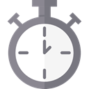 time, stopwatch, timer, interface, Chronometer, Wait, Tools And Utensils, Time And Date Gray icon