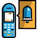 phone, Communications, phone call, Telephone Call, Call, telephone, technology, Conversation Black icon