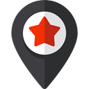 pin, placeholder, signs, map pointer, interface, Map Location, Map Point, Maps And Location DarkSlateGray icon