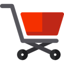 Supermarket, online store, Shopping Store, Commerce And Shopping, commerce, shopping cart Black icon