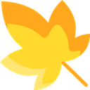 plant, Leaf, nature, leave, garden, leaves, Botanical Gold icon