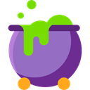 Cook, halloween, pot, Cauldron, food MediumPurple icon