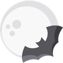 bat, zoo, Animals, Wild Life, Animal Kingdom WhiteSmoke icon