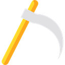 equipment, halloween, garden, Agriculture, Farm, gardening, scythe, Tools And Utensils, Farming And Gardening Icon