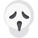 halloween, scream, horror, Terror, spooky, scary, Fright, Frightening, Avatar WhiteSmoke icon
