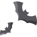 bat, zoo, halloween, Animals, Bats, Wild Life, Animal Kingdom Black icon