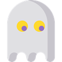 videogame, Game, play, gaming, Ghost, playing, halloween, leisure Icon