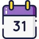 Calendar, time, date, Schedule, interface, Administration, Organization, Calendars, Time And Date WhiteSmoke icon