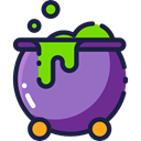 pot, Cauldron, food, Cook, halloween MediumPurple icon