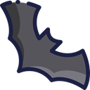 bat, zoo, Animals, Wild Life, Animal Kingdom DimGray icon