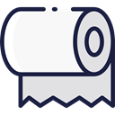 bathroom, toilet, toilet paper, hygiene, Furniture And Household, Healthcare And Medical WhiteSmoke icon