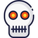 skull, halloween, dangerous, signs, medical, Dead, Anatomy, Poisonous WhiteSmoke icon