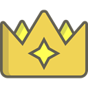 Queen, Royalty, Chess Piece, miscellaneous, king, shapes, crown SandyBrown icon