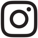 Logo, social media, Instagram, instagram new design Black icon