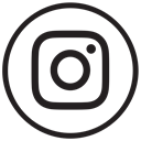 liner, instagram new design, round, social media, Instagram Black icon