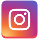 square, social media, Instagram, instagram new design IndianRed icon