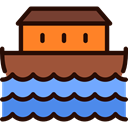 transport, religion, Flood, religious, Cultures, Boat CornflowerBlue icon