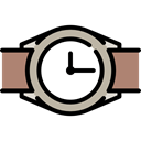 timer, tool, wristwatch, Clock, time Black icon