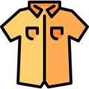 clothing, men, fashion, Masculine, Short Sleeves SandyBrown icon