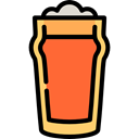 foam, drinks, Alcoholic, Alcohol, Jar, food Black icon